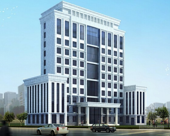 [毕业设计]23层框架结构综合办公楼建筑工程投标文件编制实例(商务标 技术标)