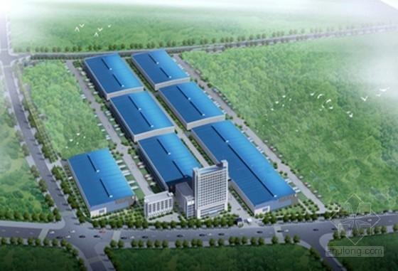 [江苏]单层钢结构厂房及框架结构车间投标施工组织设计