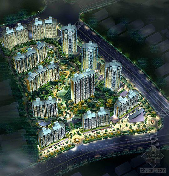 上海某大型小区规划总图-3