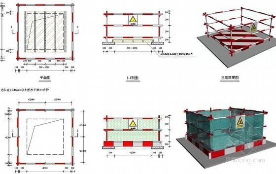 名企编制建筑工程施工现场安全文明标准化管理图集(108页 大量附图)