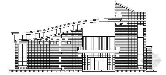 某三 层会堂建筑施工图