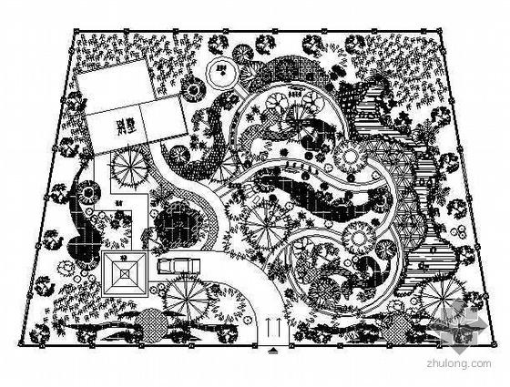 别墅绿化设计平面图6例
