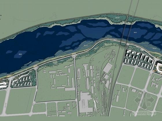 [秦皇岛]休闲游憩滨河道路景观规划设计方案