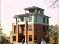 3层半独栋别墅建筑设计砌体结构(包含CAD)