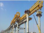 独柱柔性墩超宽连续刚构节段预制拼装施工工法