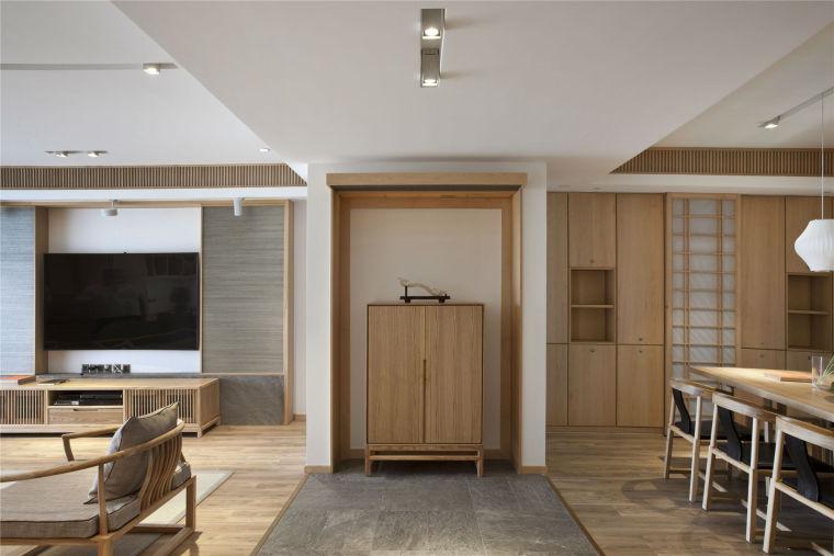简单自然的中式风格住宅室内实景图 (7)