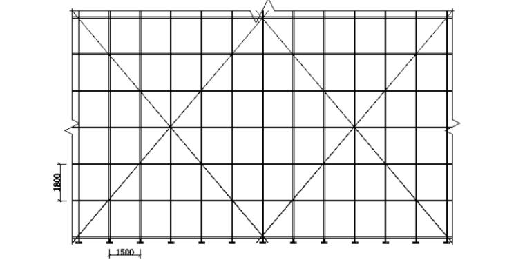 钢筋混凝土框架剪力墙结构落地式钢管脚手架搭设方案