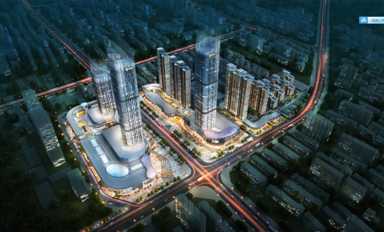 [河南]地标性超高层写字楼SOHO公寓及商业综合体方案(含CAD)_1