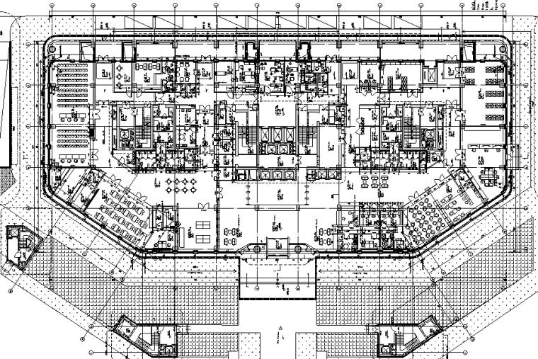 [海南]13层框架剪力墙医院综合楼建筑施工图