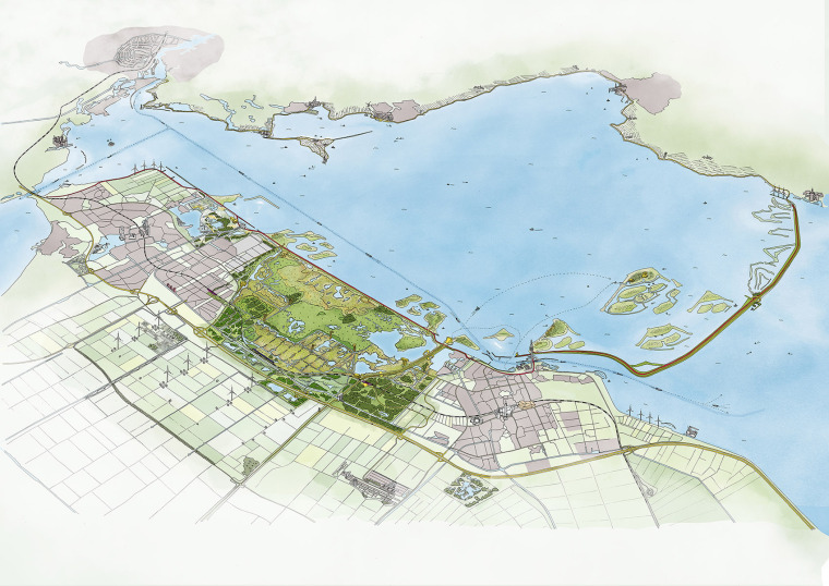 荷兰NieuwLand国家公园-001-nieuw-land-by-mecanoo-architecten