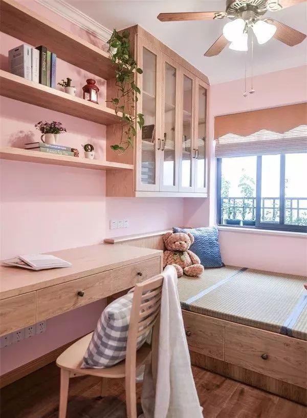 榻榻米床+柜子如何组合设计?35个案例告诉你..._22