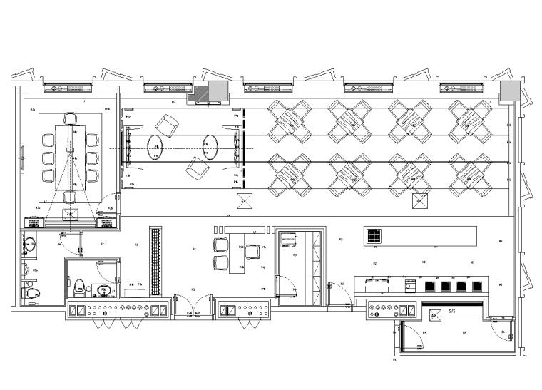 施工图 项目位置:黑龙江 设计风格:现代风格 图纸格式:jpg,cad2000图片