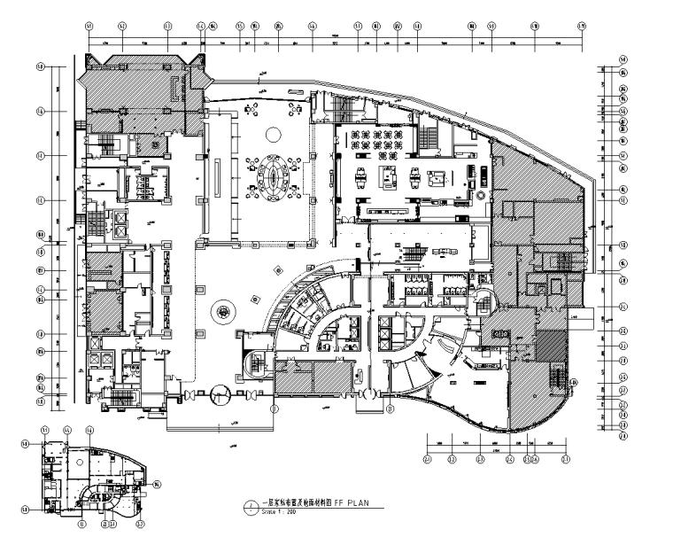 安徽某酒店扩建工程施工图设计+方案设计+效果图