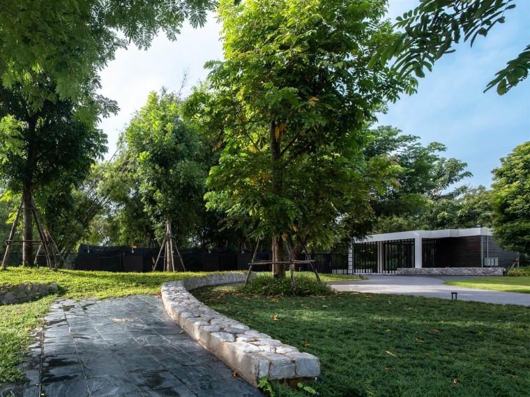泰国碧武里W私人住宅景观