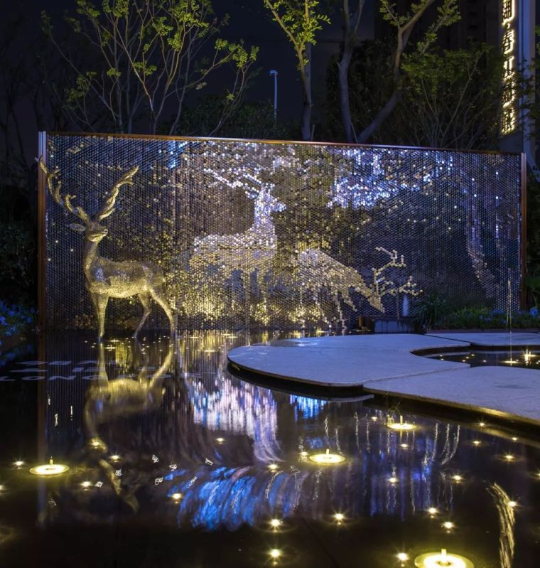 摹绘四季,鎏光鹿影|合肥龙湖春江郦城体验区_34