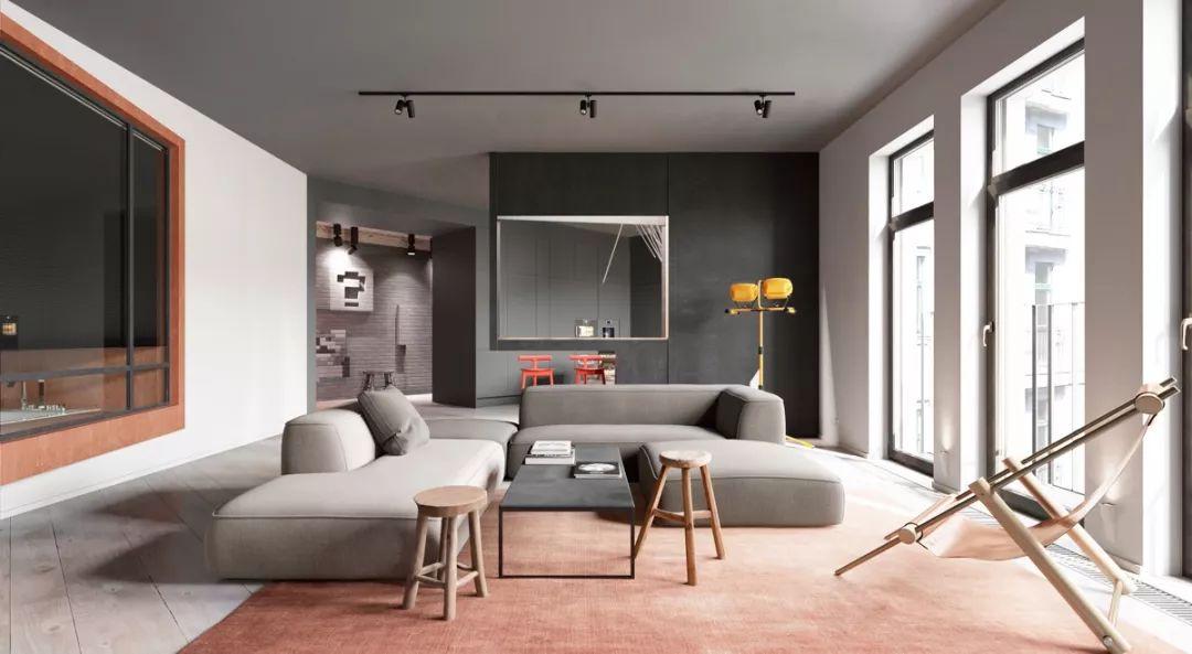 现在客厅都流行这么装,快扔掉你家笨重的大沙发吧!_10