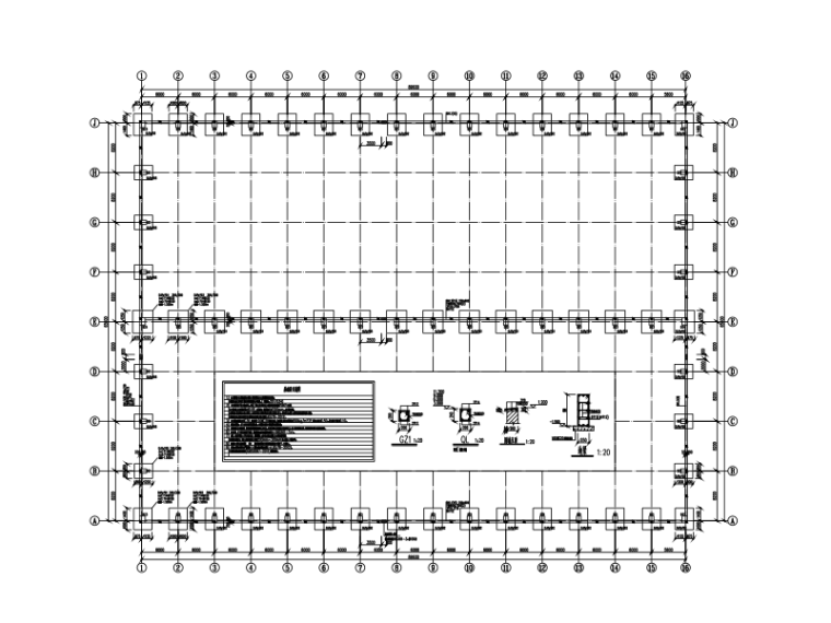 90mX66m门钢结构仓库(建筑、结构、电气、给排水)