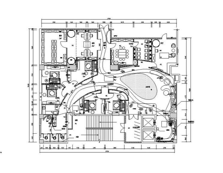 [广州]专业儿童摄影中心全套室内设计施工图