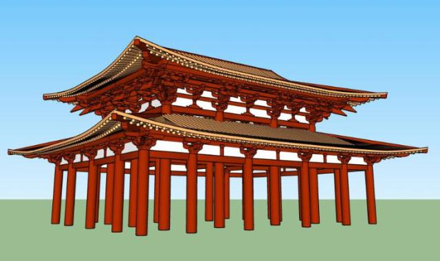 园林景观中仿古建筑的设计标准_10