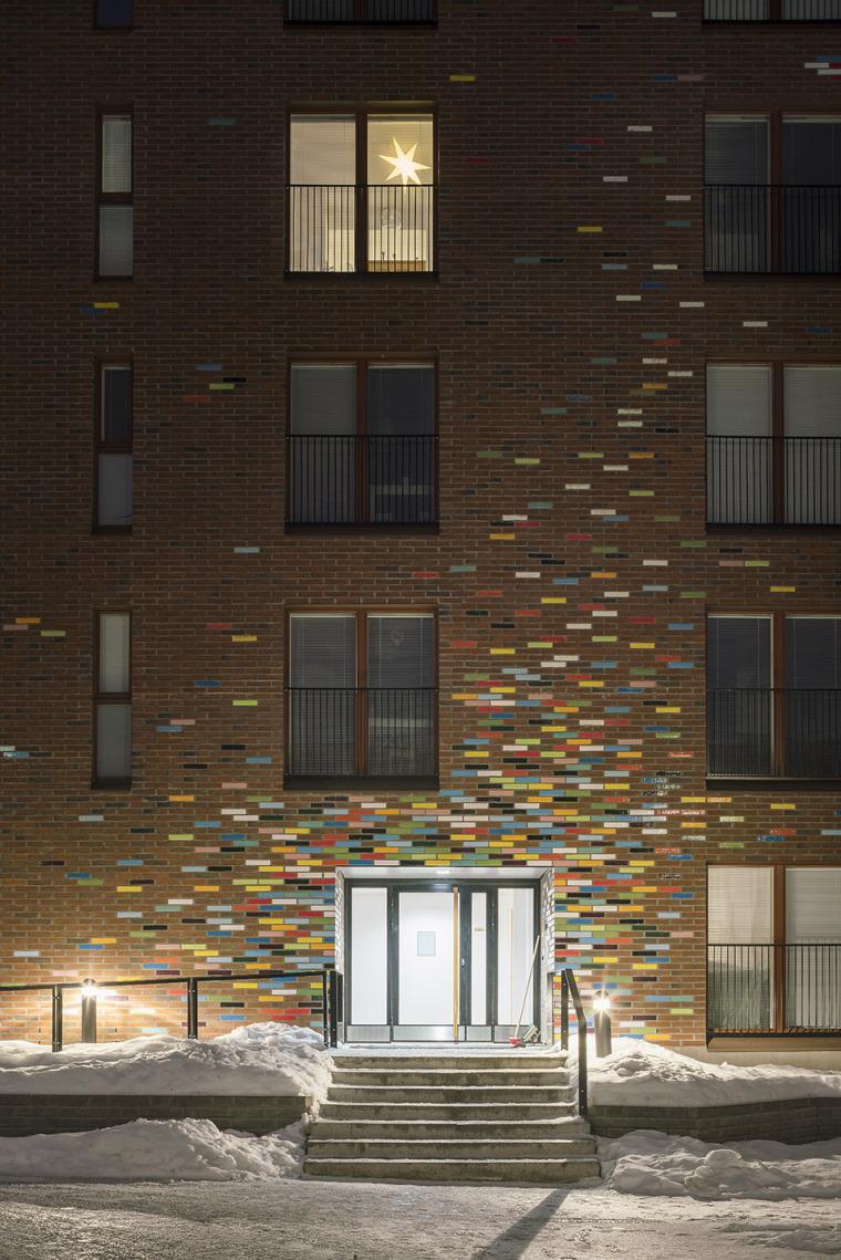芬兰Albertinpiha公寓楼-11