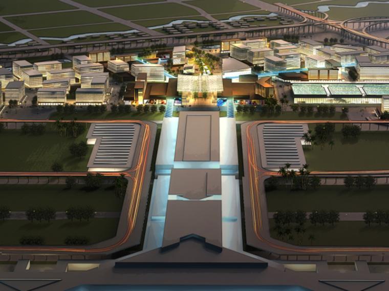 [上海]虹桥商务区核心区城市设计国际方案(商业休闲滨水)