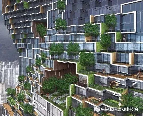 綠色建筑開啟建筑遮陽新時代!