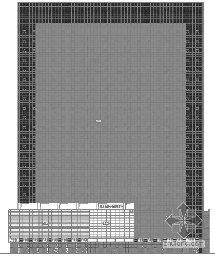 [深圳]某高层大厦幕墙建筑施工图