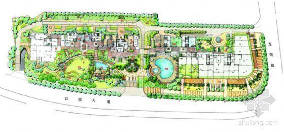 [福州]居住区环境景观深化设计方案