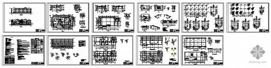 某发电公司露天煤矿矿本部食堂结构图