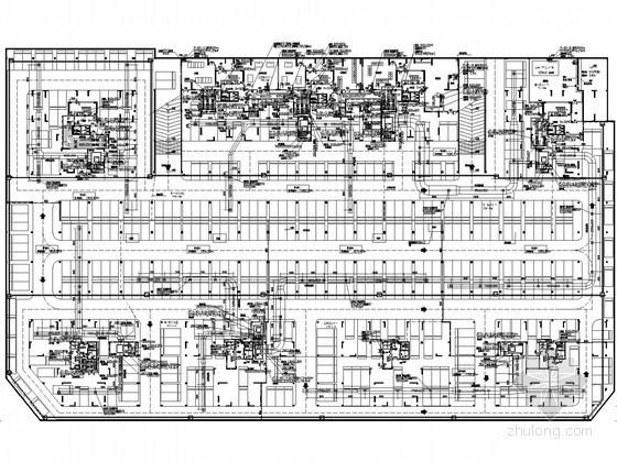 [广东]住宅楼地下室通风排烟系统设计施工图