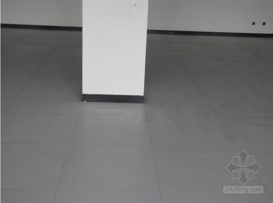 防静电地板砖施工工艺及施工要点(附图)
