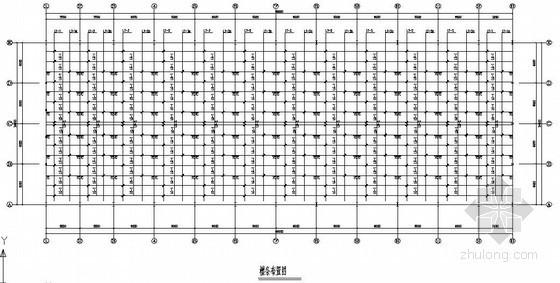 [宁波]24米跨带夹层门式刚架仓库结构施工图
