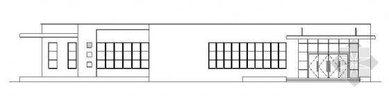 广州四层医院发热门诊楼建筑施工图