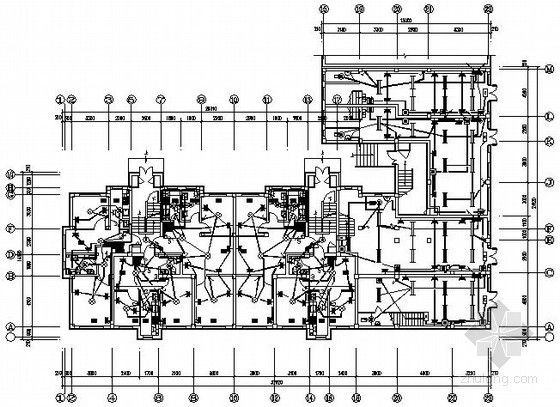 五层普通住宅楼电气施工图纸