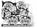 [成都]居住区园林景观植物种植设计施工图