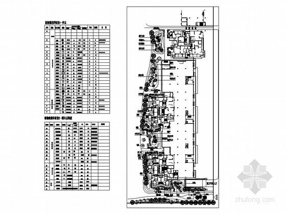 居住区组团绿地园林景观工程施工图