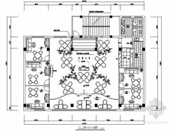 简中式茶楼室内装修图