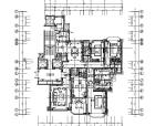 [太原]权威公司设计作品简欧大型住宅样板房施工图