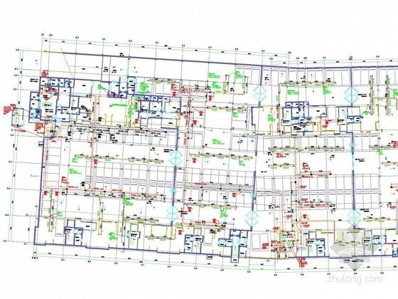 [海南]地下车库人防通风排烟系统设计施工图
