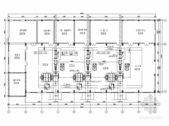 [云南]引水式电站厂房工程施工图