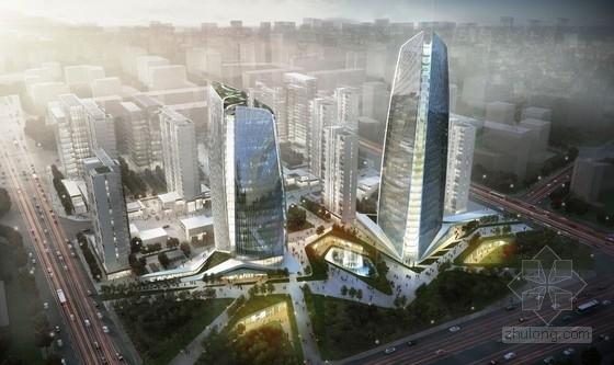[北京]高成长中小型企业服务示范园规划设计方案文本