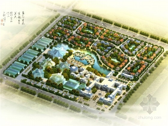 [新疆]法式生态会所概念规划设计方案文本