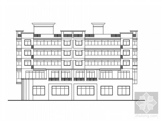 [江門]某五層老人文化活動綜合樓建筑擴初圖