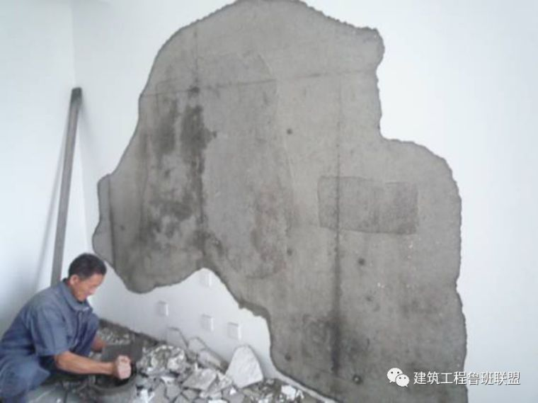"""这个砌筑工程中造成""""抹灰层空鼓""""的五个成因,其防治对策"""