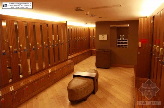厦门某高端酒店健身中心装修实景照片