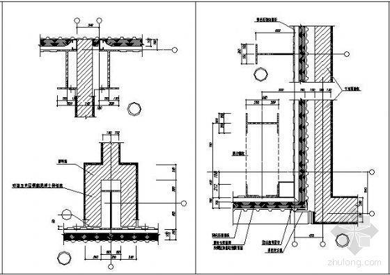 常用工业厂房钢结构节点详图