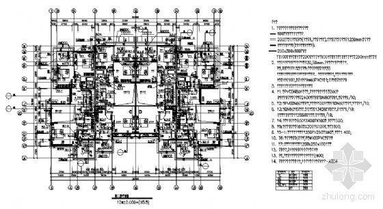 丹堤A区12号楼建筑施工图-3