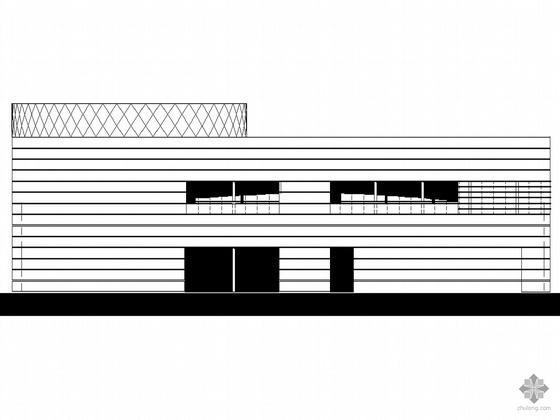 US现代建筑资料下载-[上海世博会]某北美洲国家馆CAD建筑方案图(含完整设计说明及效果图)