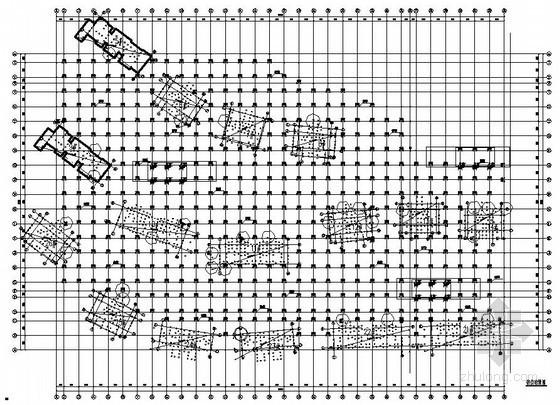 [天津]框架结构地下车库结构施工图