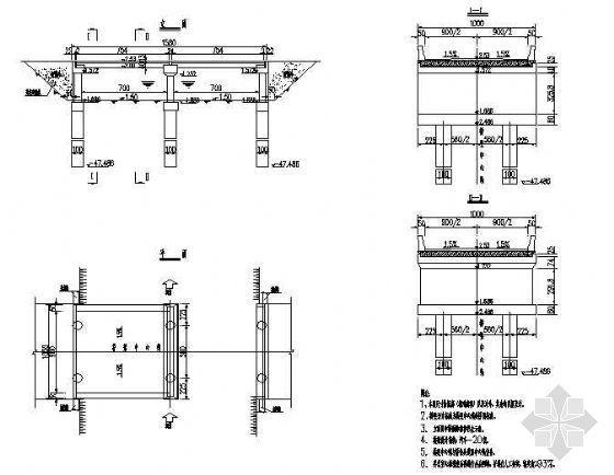 现浇板桥施工设计图
